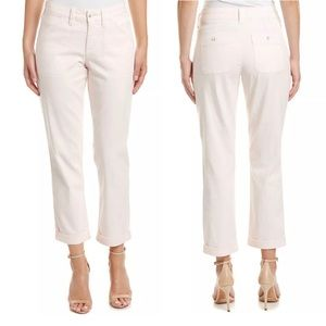 NYDJ Reese Relaxed Pants Capri Chino Cotton Blend